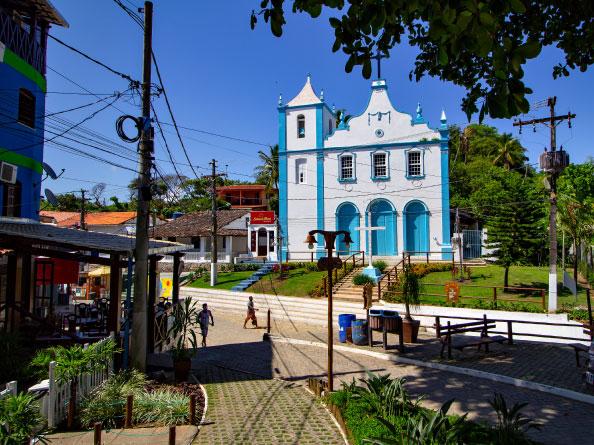 Igreja de Morro de São Paulo Bahia