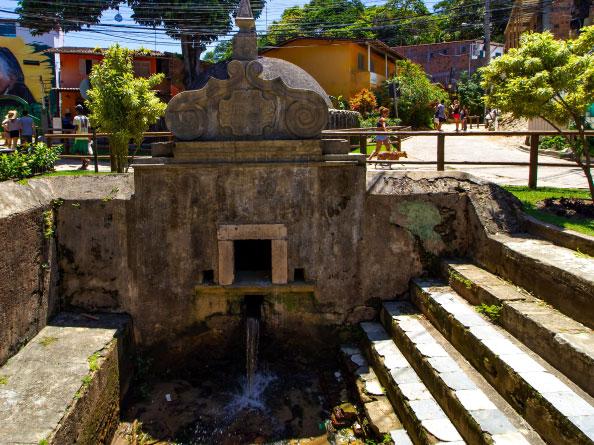 Fonte Grande Morro de São Paulo Bahia