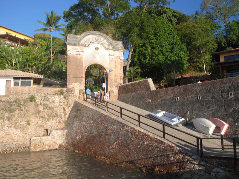 entrada de Morro de São Paulo Bahia