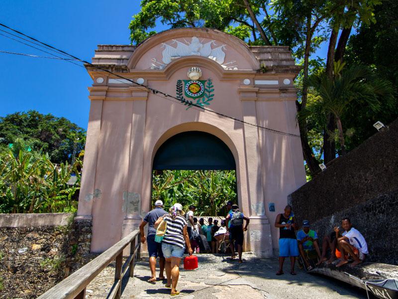 Portaló Morro de São Paulo Bahia