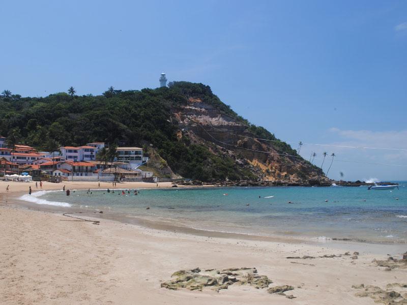 praia de Morro de São Paulo Bahia