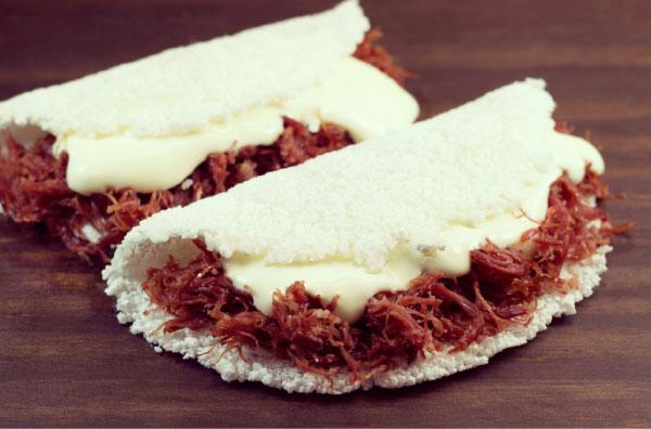 tapiocas recheadas